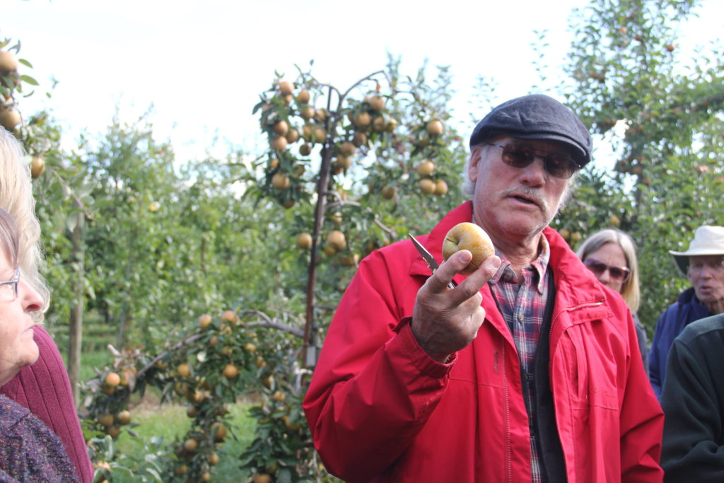 Ian Merwin at Black Diamond Farm